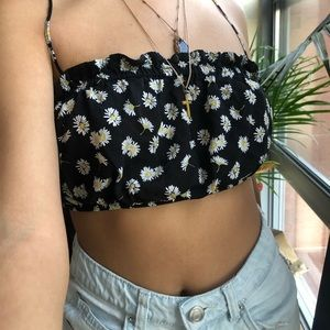 Sunflower Scrunched Top